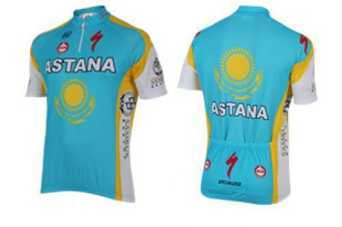 Профессиональная командная велоформа Astana