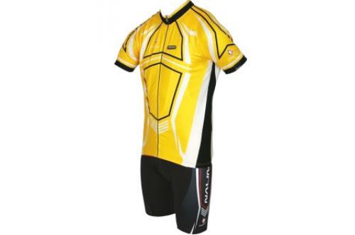Профессиональная командная велоформа Nalini PRO Lupus Yellow