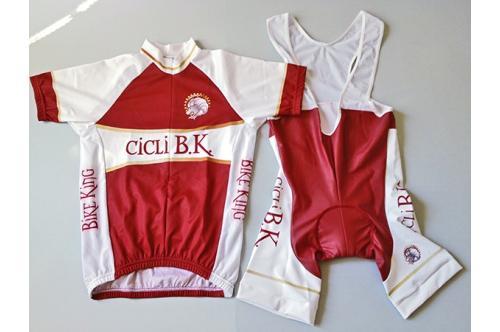 Профессиональная командная велоформа RedCode Cicli B.K.