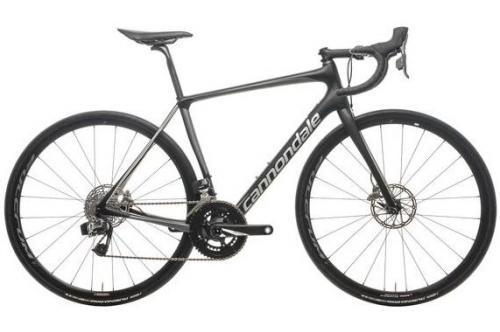 Подержанный шоссейный велосипед Cannondale Synapse Carbon Disc Red eTap (Б/У)