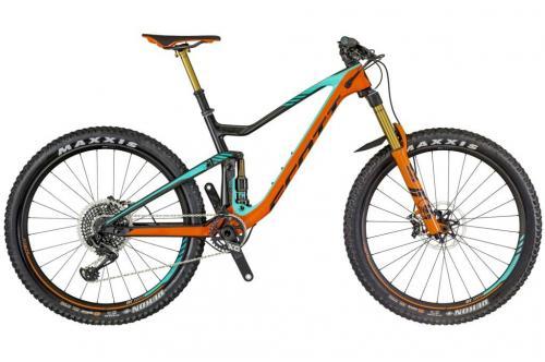 Новый Эндуро двухподвесный велосипед Scott Genius 700 Tuned 2018
