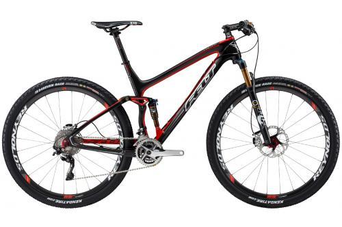 Подержанный горный двухподвесный велосипед Felt Edict Nine LTD