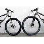 "Advantages and disadvantages of mountain bikes with 29"" wheels"