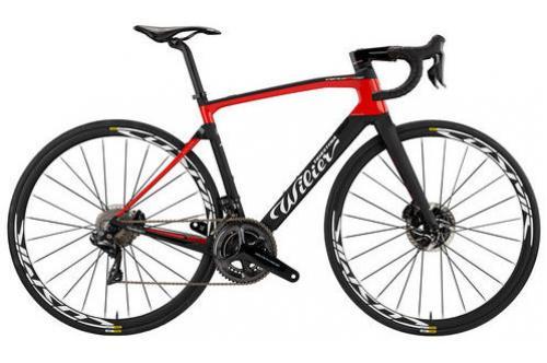 Новый шоссейный велосипед Wilier Cento10NDR RIM RED eTap