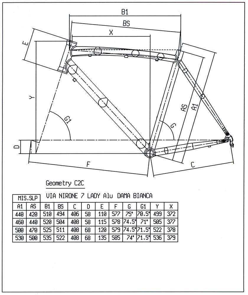 Bianchi Via Nirone 7 Dama geometry