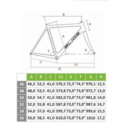 Elios Fibra геометрия