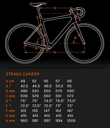 KTM Strada 4000 геометрия