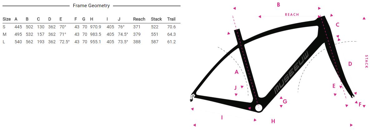 Museeuw Donna геометрия